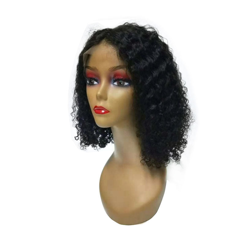 curly bob lace wig