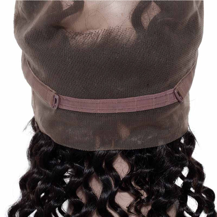 cheap deep wave 360 lace front