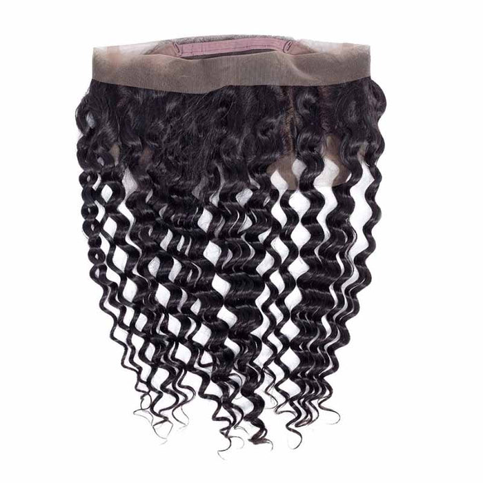 cheap deep wave lace frontal 360