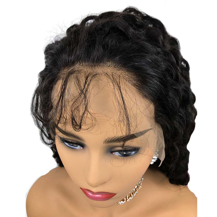 deep wave lace wig