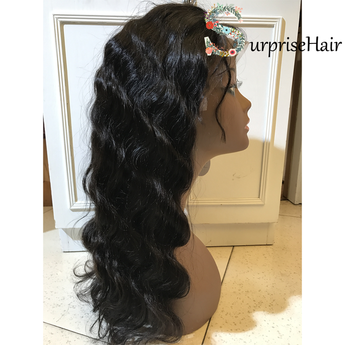 body wave wig lace front