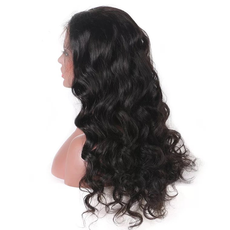 full lace wig loose curl