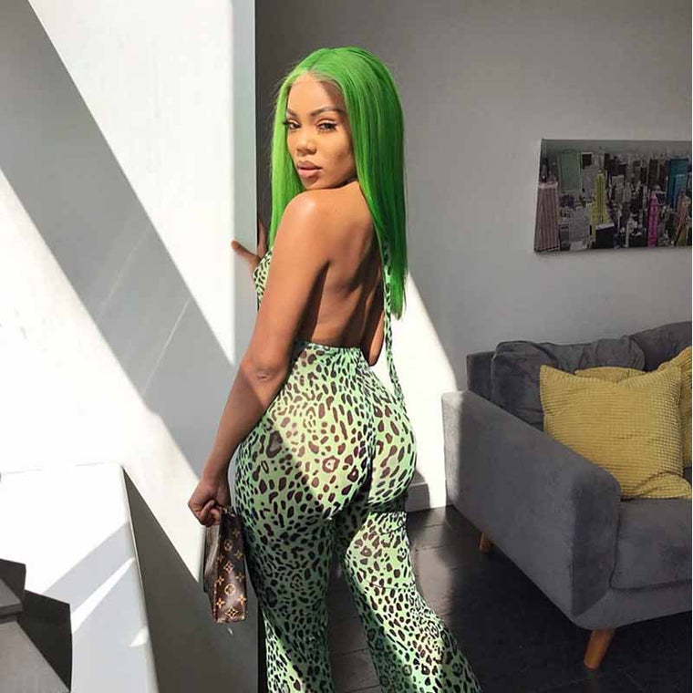 Best green lace front wig human hair for African American Surprisehair