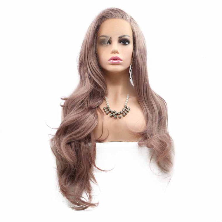 Surprisehair High Quality Synthetic Wigs Lace Front Body Wave Long