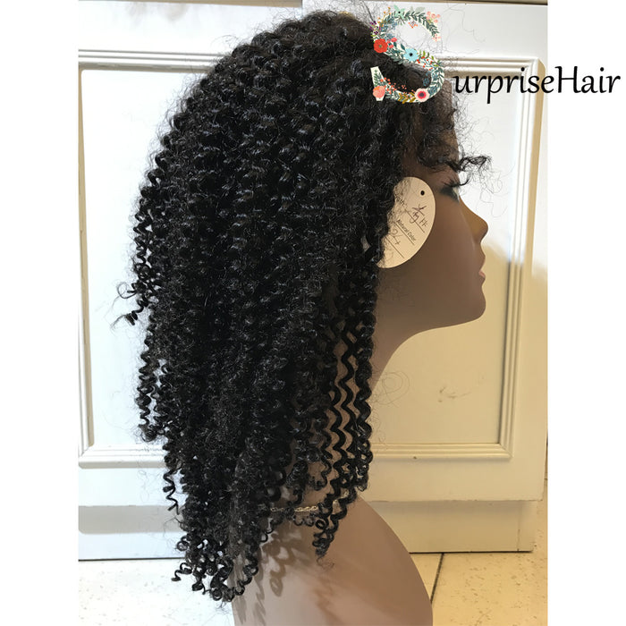 curly lace front wigs with baby hair