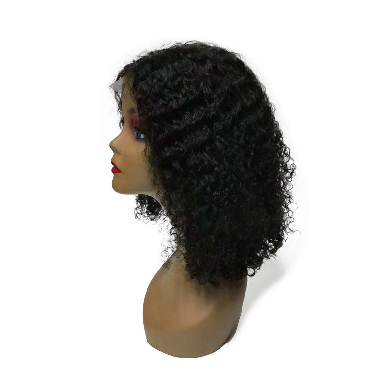 lace wig curly bob