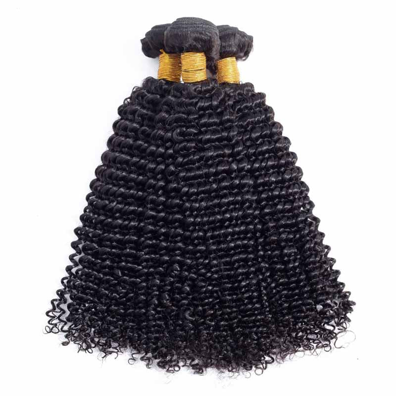 kinky curly hair bundle deals