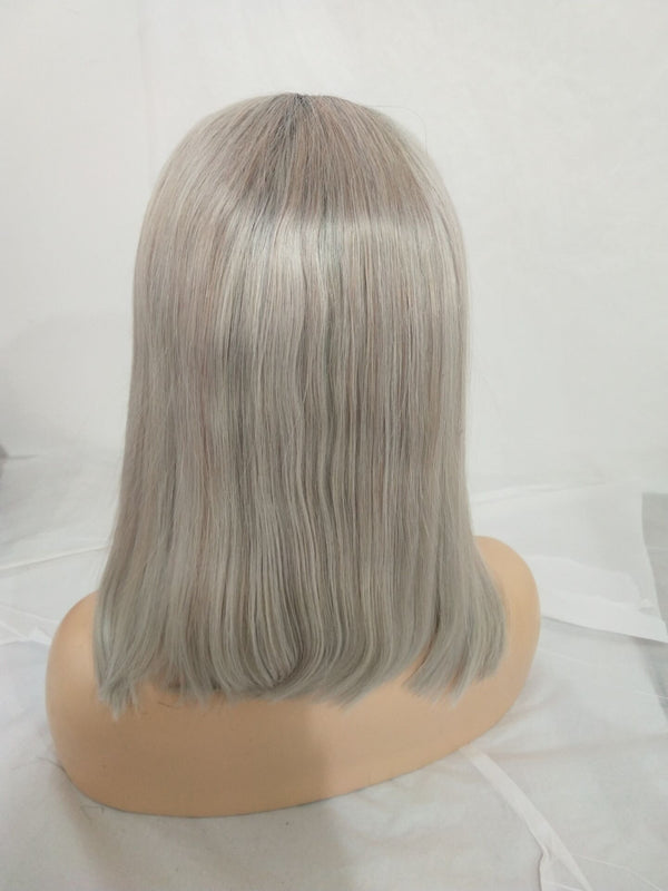 grey ombre lace front wigs for sale