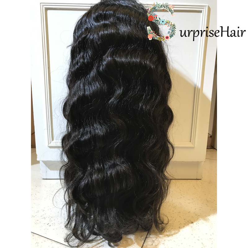 peruvian body wave lace wig