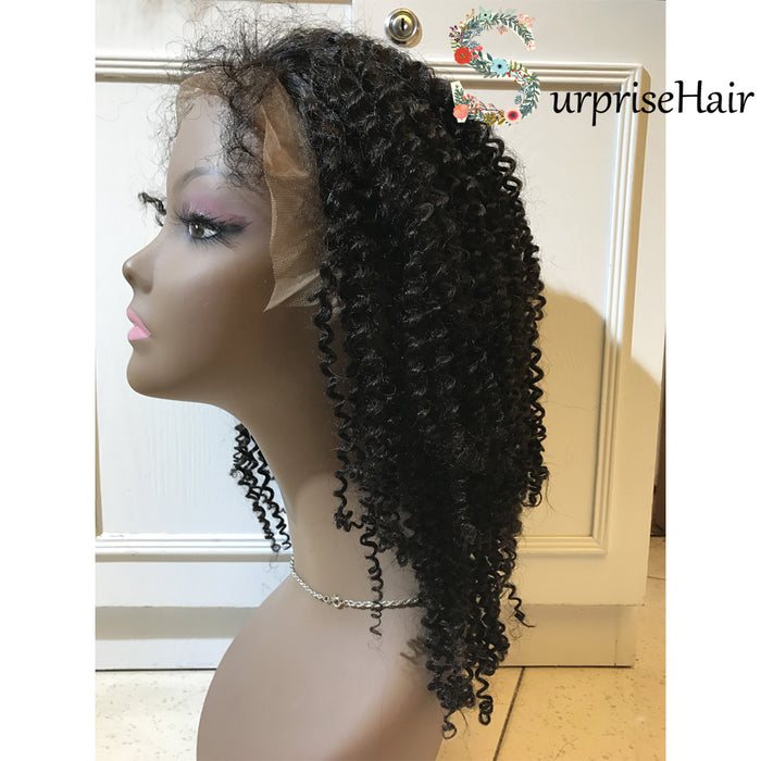 lace front wigs curly