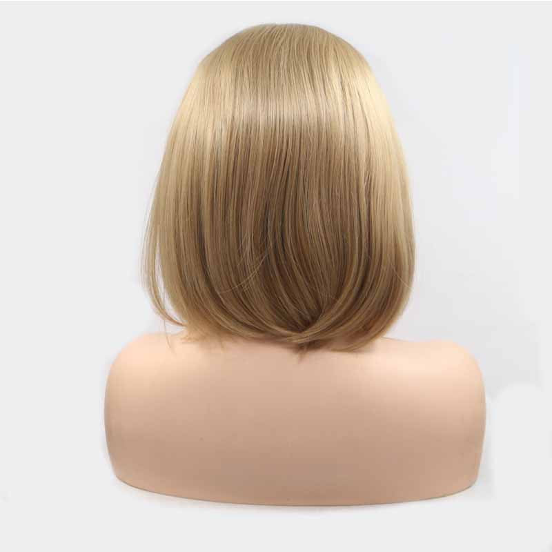 Light Brown Synthetic  Wig BoB