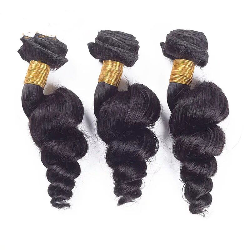brazilian hair bundles 8a loose wave