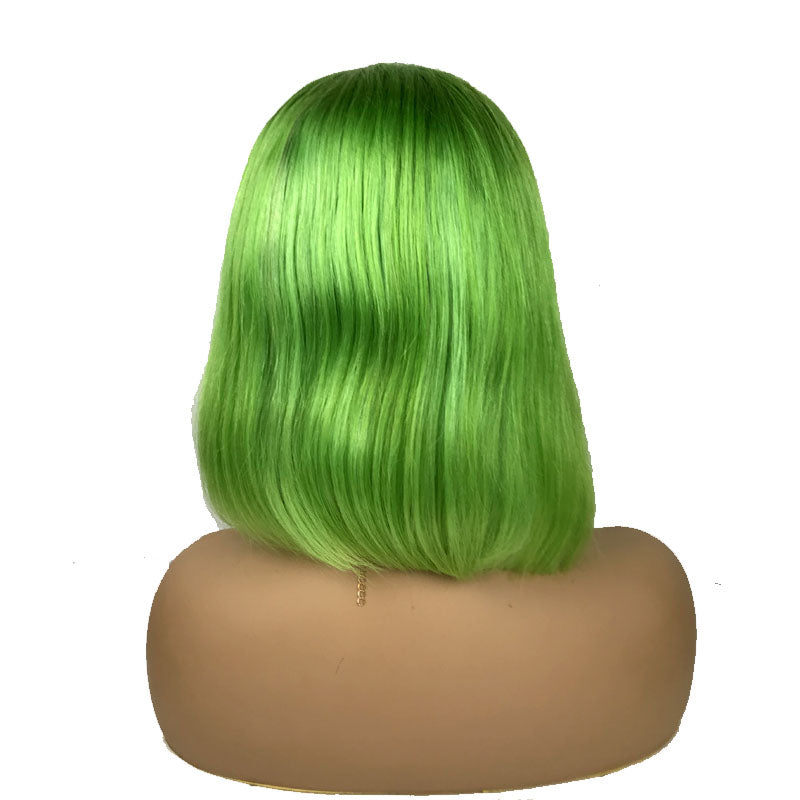 mint green ombre wig