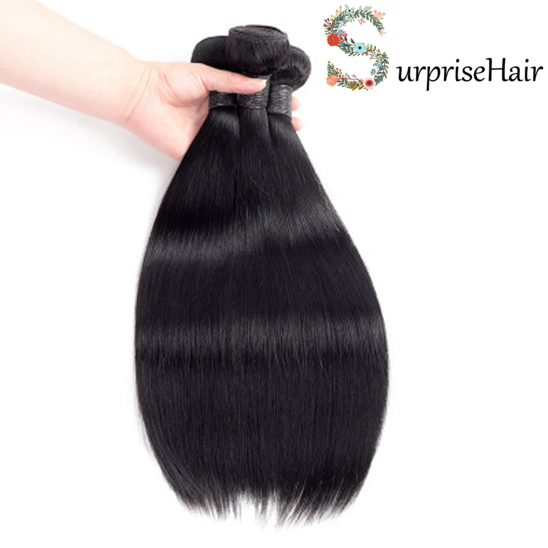 surprisehair-Surprisehair 9A Peruvian Hair Straight 100%  Unprocessed Virgin Hair for Sale