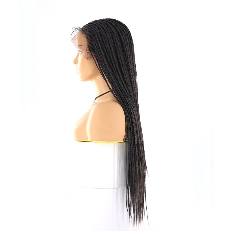 13x6 Lace Front wig Box braided