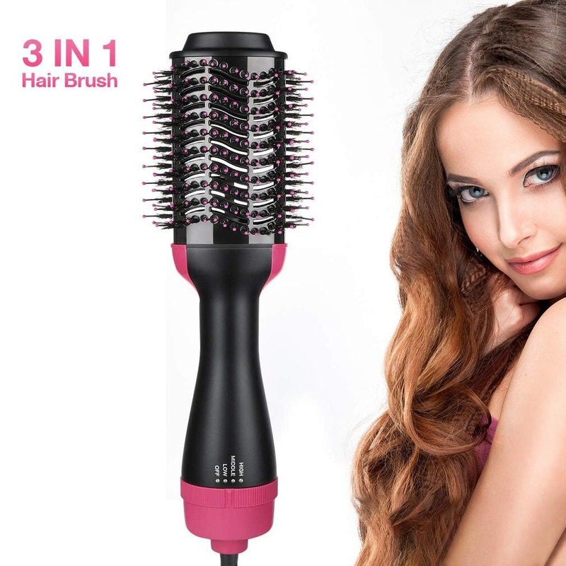 Electric Hair Straighter Multifunction Comb Hair Dryer