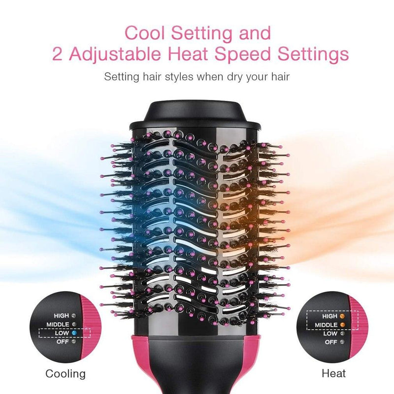 Electric hair straighter comb