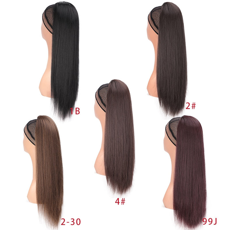 synthetic yaki ponytail for women