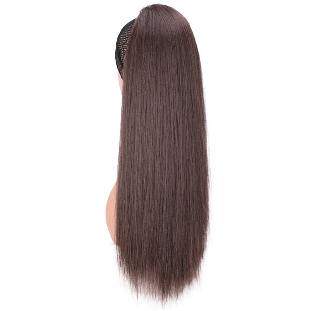 synthetic kinky straight ponytail for women