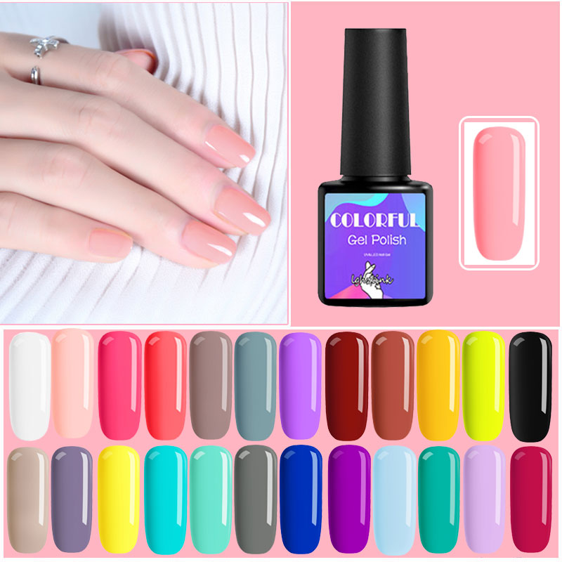 UV Gel Polish Vernis Semi Permanent Gel Varnish Hybrid Gellak Set For Nail