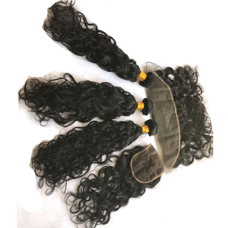 Quality 10A Natural Wave Brazilian Human Hair Bundle Deals Surprisehair
