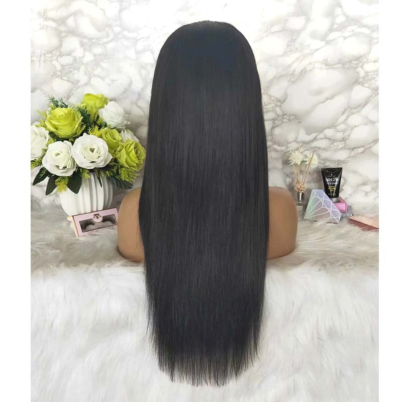 Long Straight Human Hair Lace Wig with Baby Hair Online Surprisehair