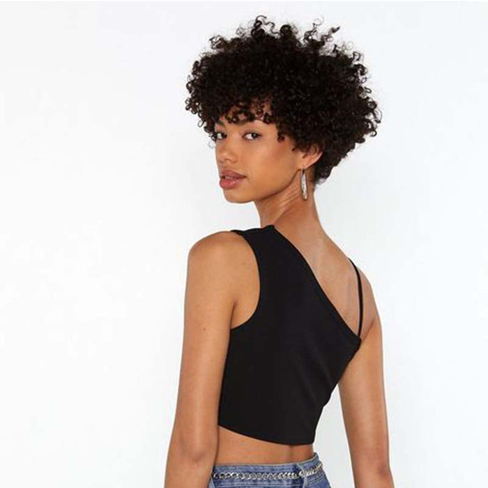 short human hair curly lace wig
