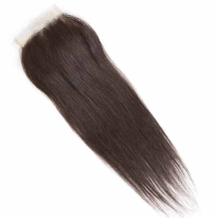 Cheap Straight Lace Closure Free Part