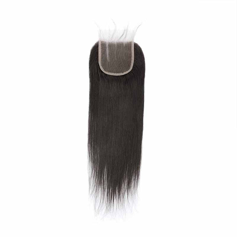 Surprisehair 3 Part Peruvian Straight Lace Closure with Baby Hair