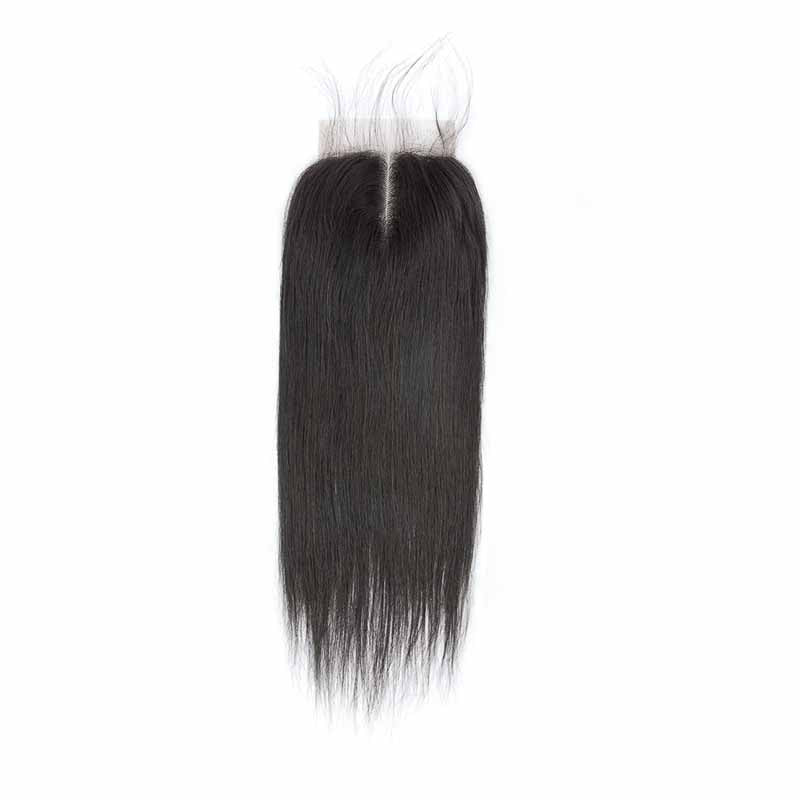 brazilian straight lace closure middle part buy