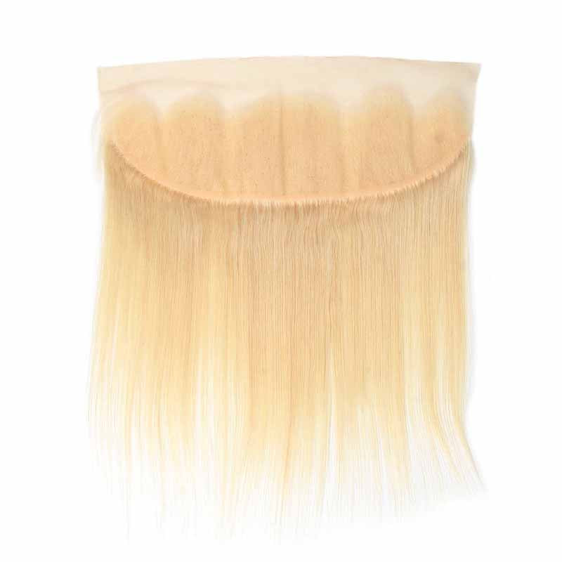 Surprisehair Cheap Straight Blonde Lace Frontal 13x4 Brazilian Hair