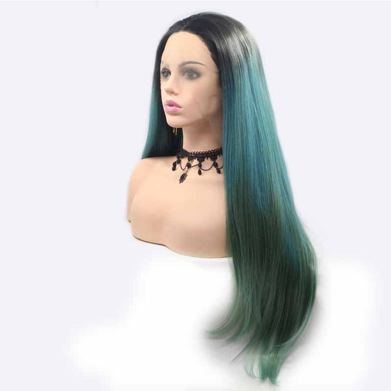 24inch Synthetic Lace Front Wig