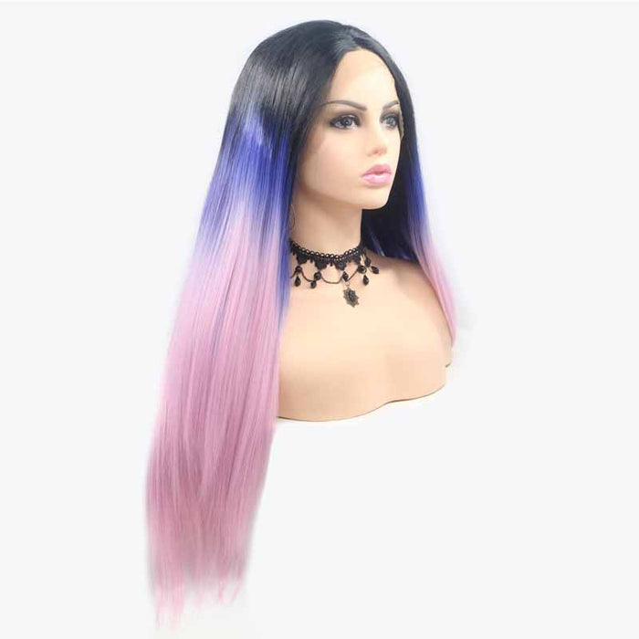 3 tone synthetic wig