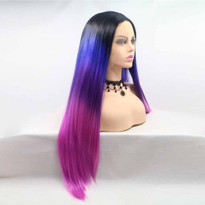 lace front wig synthetic hair