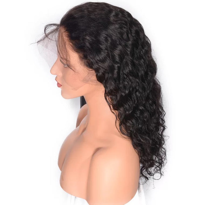 water wave full lace wig human hair