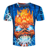 Skull Poker Men Short Sleeve