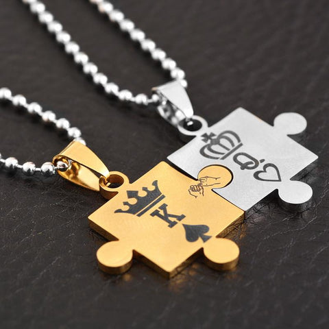 """K & Q Necklace"""