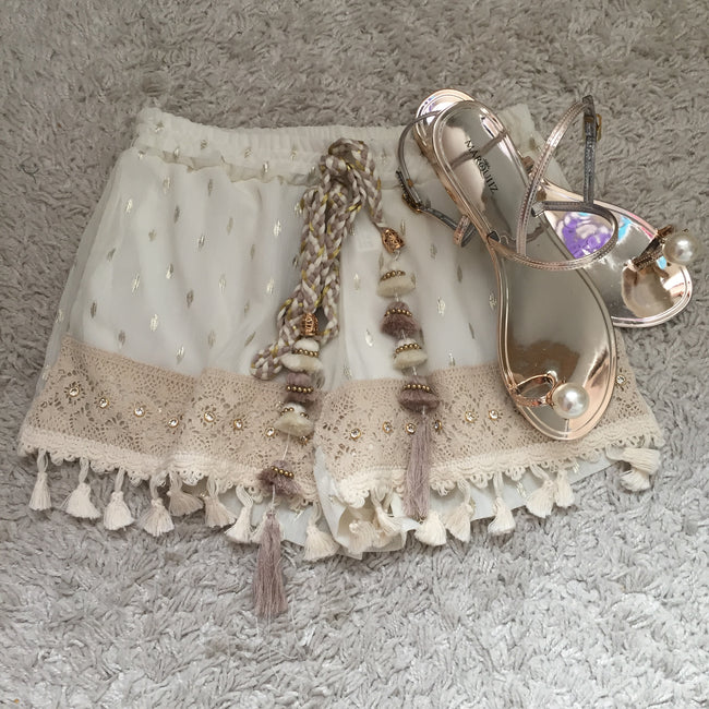 Dream Catcher Shorts made in Paris (Matching Top available too)