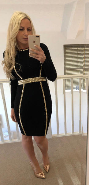 Black Leyla Dress