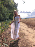 Chelsea Maxi Dress with Underlining