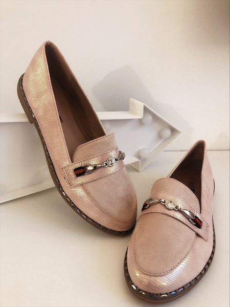 Dusty Pink Brogues