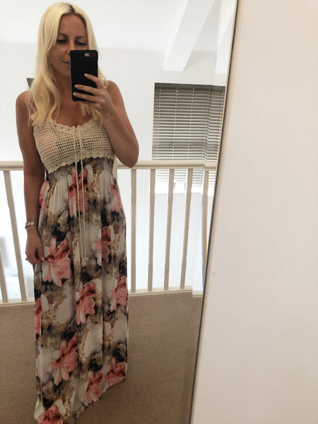 Pandora Maxi Dress with side splits