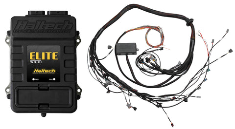 Haltech Elite 2000 + Toyota 2JZ Terminated Harness ECU Kit (High Output IGN-1A Inductive Coil – with built-in ignitor)