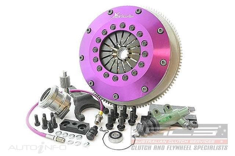 Xtreme Clutch Kit-Twin Plate Organic 230mm 1jz/2jz R154