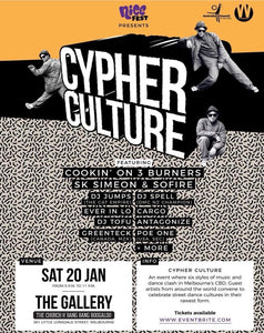 Nice Fest - Cypher Culture 20th January 2018
