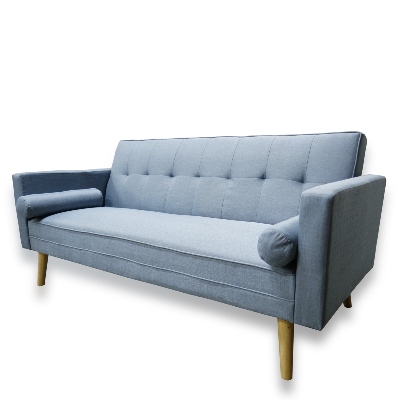 Alison Light Blue Sofa Bed