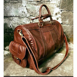 Wanderlust travel bag - tan-Accessories-jfahristore