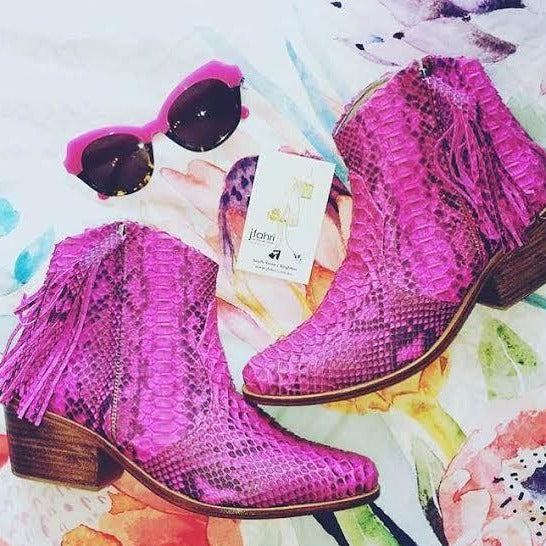 Jfahri Boot - Neon Pink Multi-Shoes-jfahristore
