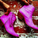 Jfahri Boot - Neon Pink-Shoes-jfahristore