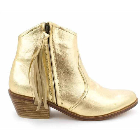 Jfahri Boot - Metallic Gold-Shoes-jfahristore